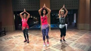 getlinkyoutube.com-Clases de Zumba® fitness con Danyela HABIBI LOVE Shaggy feat. Mohombi, Faydee and Costi