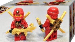 getlinkyoutube.com-Decool 닌자고 카이 레고 짝퉁 2015 닌자 모바일 베이스 미니피규어 리뷰 Lego ninjago Kai mini figures