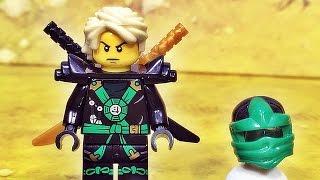 getlinkyoutube.com-sy 닌자고 로이드 그린닌자 미니피겨 레고 짝퉁 Lego knockoff ninjago lloyd green ninja minifigure