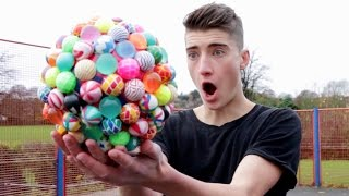 getlinkyoutube.com-CRAZY BOUNCY BALL FOOTBALL!!!