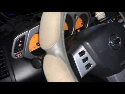 Ниссан Мурано Z50. Обновление штатной оптики. Диодные фары. Nissan Murano z50 diode headlights