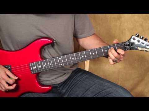 Van Halen Style Guitar Lesson - Ain't Talkin' bout Love Inspired Riff EVH