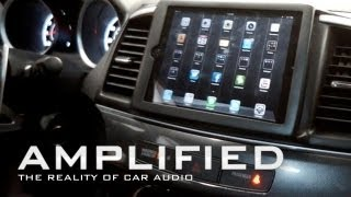 getlinkyoutube.com-iPad mini installed in Lancer GTS, modded EVO Dash, Mitsubishi - Amplified #90