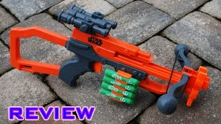 getlinkyoutube.com-[REVIEW] Nerf Star Wars Episode VII Chewbacca Bowcaster Review