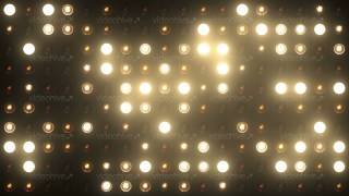 getlinkyoutube.com-VJ Flashing Lights Spotlight Stage Wall of Lights 4k Ultra HD motion graphic