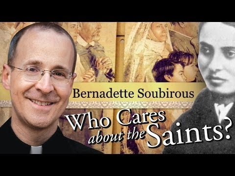"Thumbnail image for 'Saint Bernadette Soubirous of Lourdes from ""Who Cares About The Saints?"" with Fr. James Martin, S.J.'"