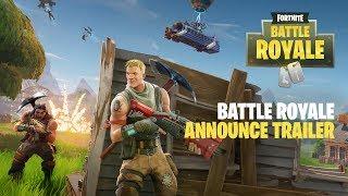 Fortnite - Battle Royale Announce Trailer