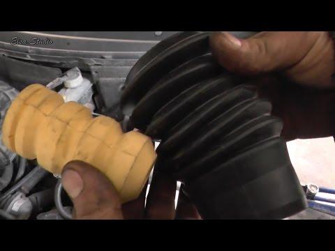 Замена пыльника и отбойника передней стойки ВАЗ 2110