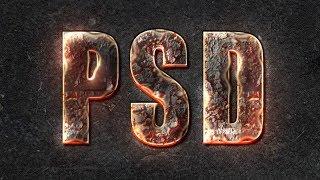 getlinkyoutube.com-Efeito magma p/ textos - Tutorial Photoshop CS6