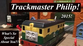 getlinkyoutube.com-Thomas & Friends Trackmaster Toy Train-Newly Re-Designed Trackmaster Philip!