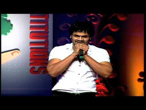 Manchu Manoj Imitating Mohan Babu Dialogues At Vidyanikethan Annual Day 2012