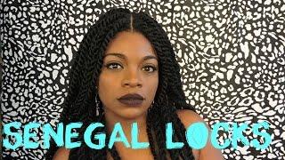 MODIFIED:Sensationnel Empress Braided Lace wig (Senegal Locks)MODIFICADA