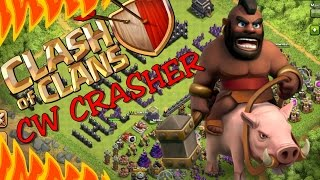 Clash of Clans Schweinereiter Angriff im Clankrieg