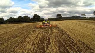 Mazuri - A Customers Rezult Straw Harrow sowing a Green Cover Crop
