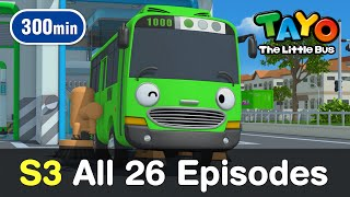 [Tayo S3] All 26 Full Episodes of Season 3 (300 mins)