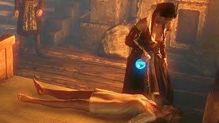 getlinkyoutube.com-Philippa Eilhart Kisses Saskia: Lesbomancy (Witcher 2 | Geralt, Lesbian Witch & Virgin of Aedirn)