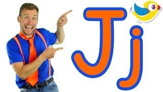 getlinkyoutube.com-The Letter J Song - Learn the Alphabet