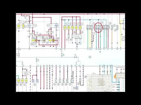 Chery Fora - Электросхема и распиновка переднего ISU блока