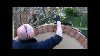 the fine art of brickwork - semi circular arch