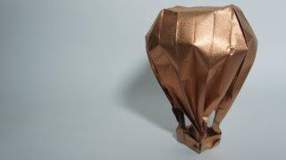getlinkyoutube.com-Origami Hot-Air Balloon (Jason Lin)
