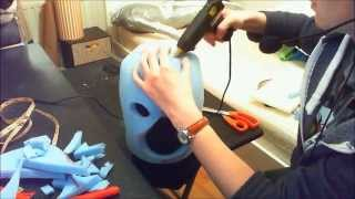getlinkyoutube.com-Fursuit 'bucket' head tutorial