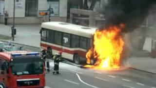 getlinkyoutube.com-Pożar autobusu - Mielec