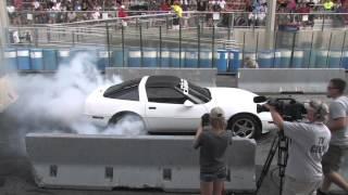 getlinkyoutube.com-The Burnout Contest at the 2014 Corvettes at Carlisle