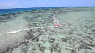 getlinkyoutube.com-diabolo funboard  windsurfing paradise New Caledonia