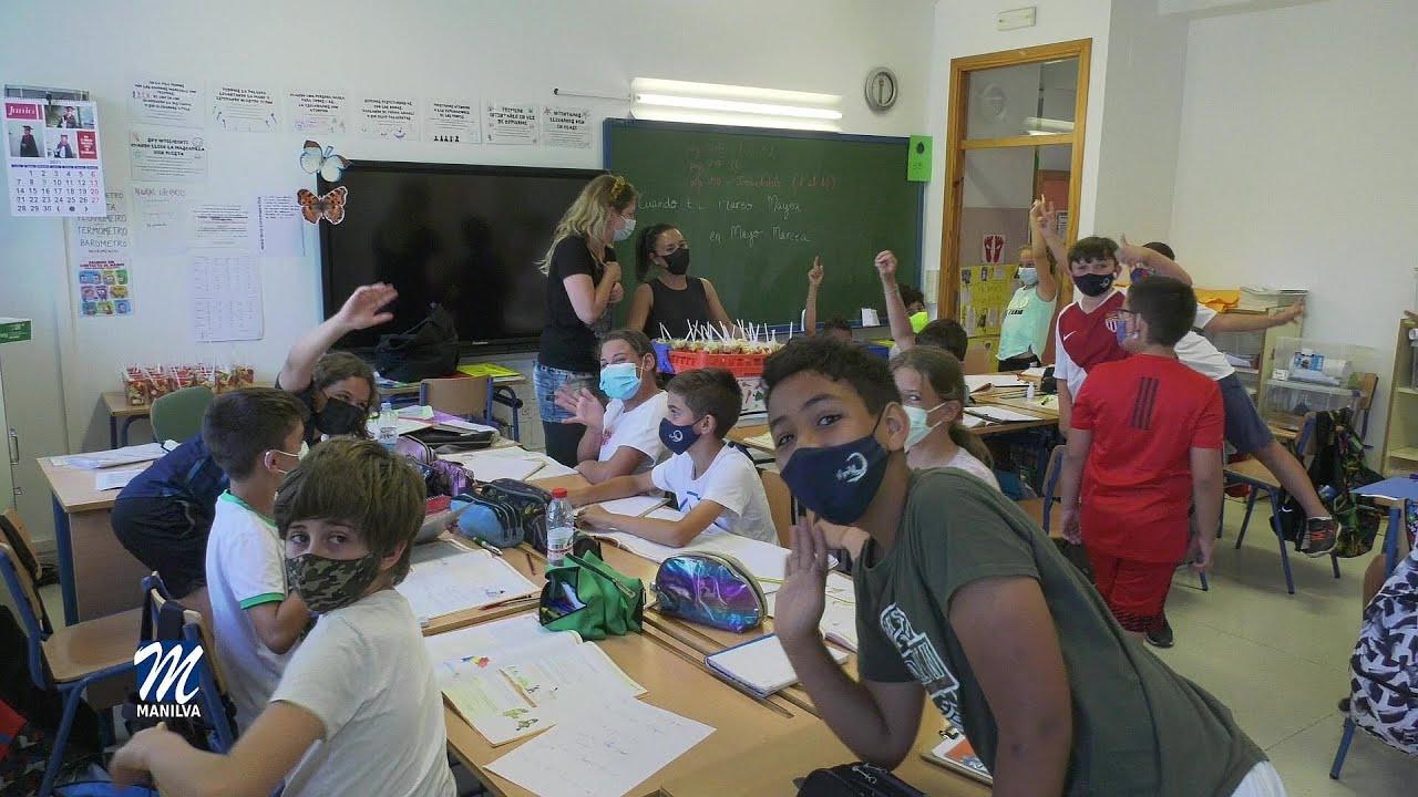 Los colegios del término celebran el Día de la fruta