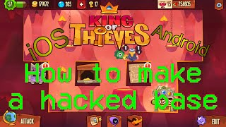 getlinkyoutube.com-King Of Thieves Hack - How to make a hacked base [iOS + Android]