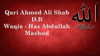getlinkyoutube.com-Qari Ahmed Ali Shab  D.B - Haz Abdullah Mashud Ka Waqia