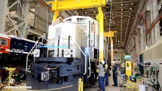 getlinkyoutube.com-EMD GP9-GP20ECO Repower Locomotives