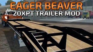 getlinkyoutube.com-Farming Simulator 2015- Eager Beaver Over deck Trailer Mod!