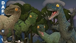 getlinkyoutube.com-Spore - Jurassic World Velociraptors