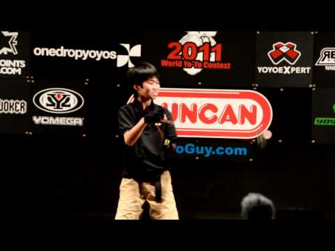 C3yoyodesign present: World Yoyo contest 2011 5A 1st - Takeshi Matsuura