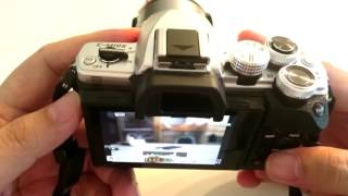getlinkyoutube.com-สอนใช้กล้อง olympus omd em10 mark ii ตอน ระบบ shutter