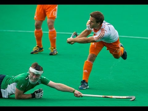 Netherlands vs Ireland Men's Hockey World League Rotterdam Pool B [17/6/13]
