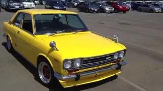 getlinkyoutube.com-Mint Condition 1970 Datsun / Nissan 510 Bluebird SSS 1800cc  5 Speed by TK @ www.EdwardLees.com.au