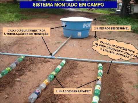 REUTILIZAÇÃO DE GARRAFAS PET NA CONSTRUÇÃO DE SISTEMA DE IRRIGAÇÃO SUBSUPERFICIAL.wmv
