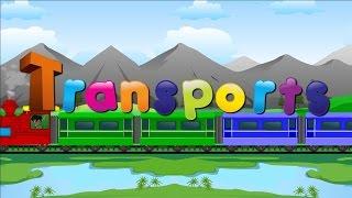 "getlinkyoutube.com-Learn ""Transport Vehicles"" for children and kids"