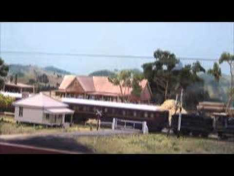 Dungog  NSWGR - Part 2 - Australian Model Railway Layout