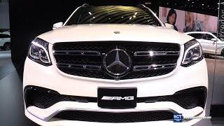 getlinkyoutube.com-2016 Mercedes-AMG GLS 63 AMG V8 BiTurbo -Exterior and Interior Walkaround - 2016 Detroit Auto Show
