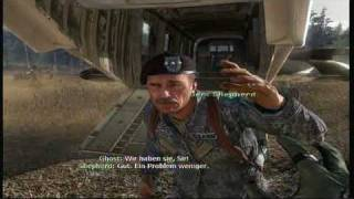 Modern Warfare 2 - Ghost's & Roach's Death - HD
