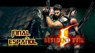 getlinkyoutube.com-Resident Evil 5 [Final Español]