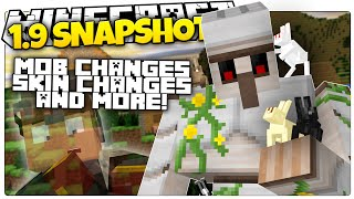 "getlinkyoutube.com-Minecraft 1.9 Snapshot | NEW MOB CHANGES | ""Ghost"" Skins / Armor (Minecraft 1.9 News)"