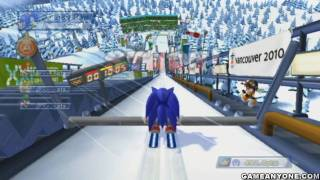 getlinkyoutube.com-Mario and Sonic at the Olympic Winter Games - [Team Festival] - Part 07 - [Day 7 1/2]