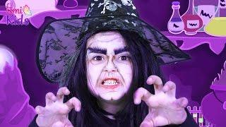 getlinkyoutube.com-Pamuk Prenses Cadı Makyajı - Pamuk Prenses ve 7 Cüceler - UmiKids Makyaj Yapma Teknikleri