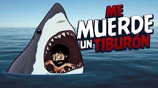 getlinkyoutube.com-NÁUFRAGO: ME MUERDE UN TIBURÓN !! | Stranded Deep #8