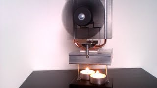 getlinkyoutube.com-ThermoElectric Generator powered by a Candle