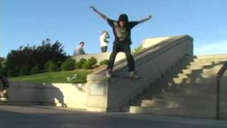 getlinkyoutube.com-Rob Dyrdek DC Skate Plaza Kettering Ohio